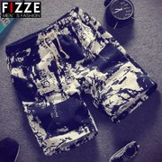 Men spend the summer beach pants shorts in summer sports big pants pants five boys pants cotton pants tide