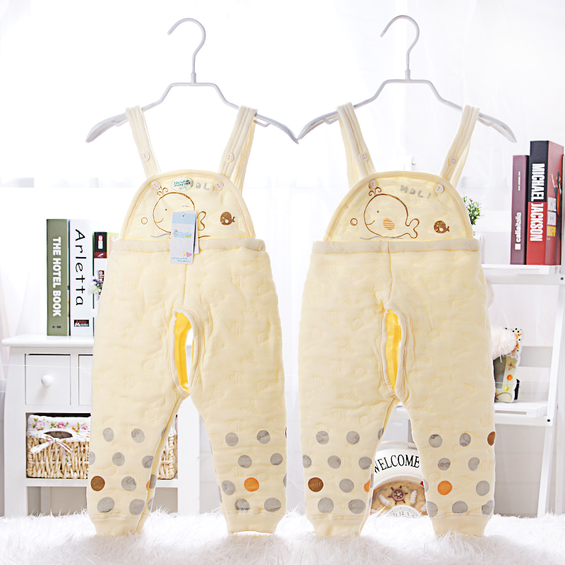 The new baby dragon bean suspenders trousers forty combed cotton brand discount value