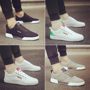 In the spring of 2017 new tablet sports shoes men's casual shoes canvas shoes all-match summer trend of Korean