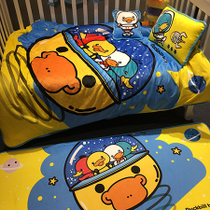 Platypus counter genuine velvet Crystal children baby bedding nursery baby bedding set of three or four