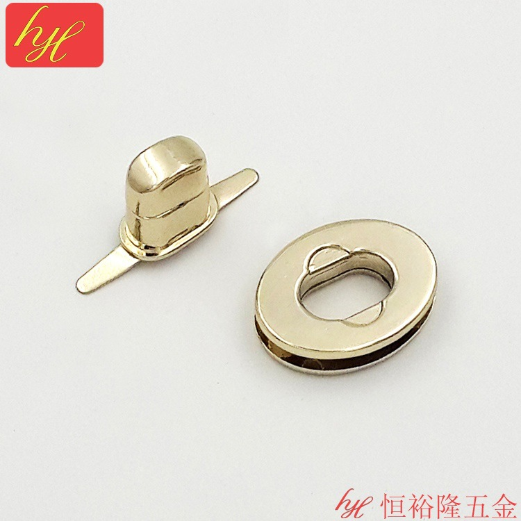 Manufacturers selling luggage hardware accessories constant yulong bags oval lock lock twist lock screw lock