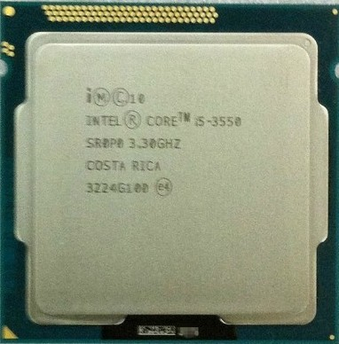 Spot official version intel/Intel Core Quad i5 3550 1155 pin 4 cores CPU