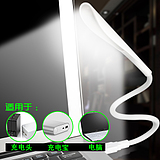 Usb eye light led energy saving portable night light rechargeable notebook computer learning strong light desk lamp