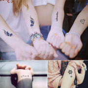 There are 30 copies of 2 copies of the 15 pairs of men and women with long lasting waterproof tattoo tattoo