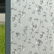 Electrostatic stickers window glass bathroom translucent opaque frosted glass film waterproof bathroom glass paper