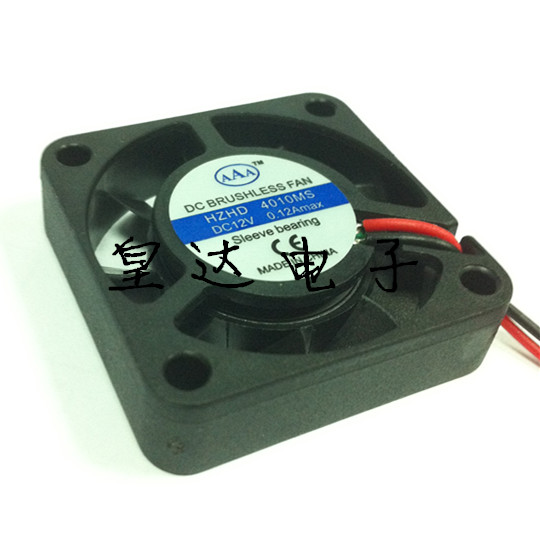 AAA cooling fan 40 * 40 4010 * 10 mm fan 4 cm 12 v and 24 v mute fan factory direct sale