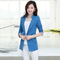 Cool GAL 2016 Couture autumn new autumn Korean small long sleeve slim one-button suit jacket