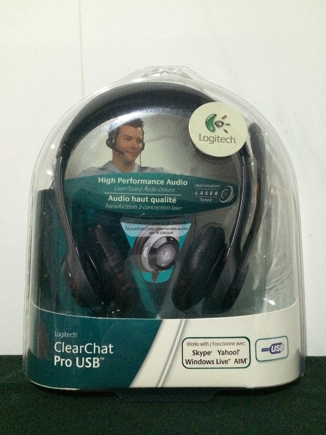 Logitech Strong Voice Clearchat Pro headset Microphone