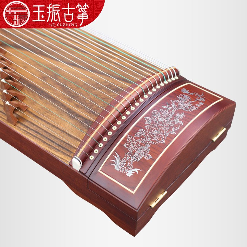 Guzheng phoenix form yangzhou professional employs a full set of guzheng adult children annatto guzheng
