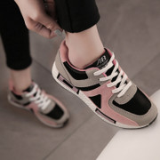 Autumn and winter sports shoes and casual shoes Korean cashmere Agam shoes shoes running shoes shoes shoes students all-match tide