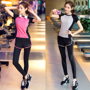 Anise Yoga suit fitness wear summer female suits slim gym running clothing Couture
