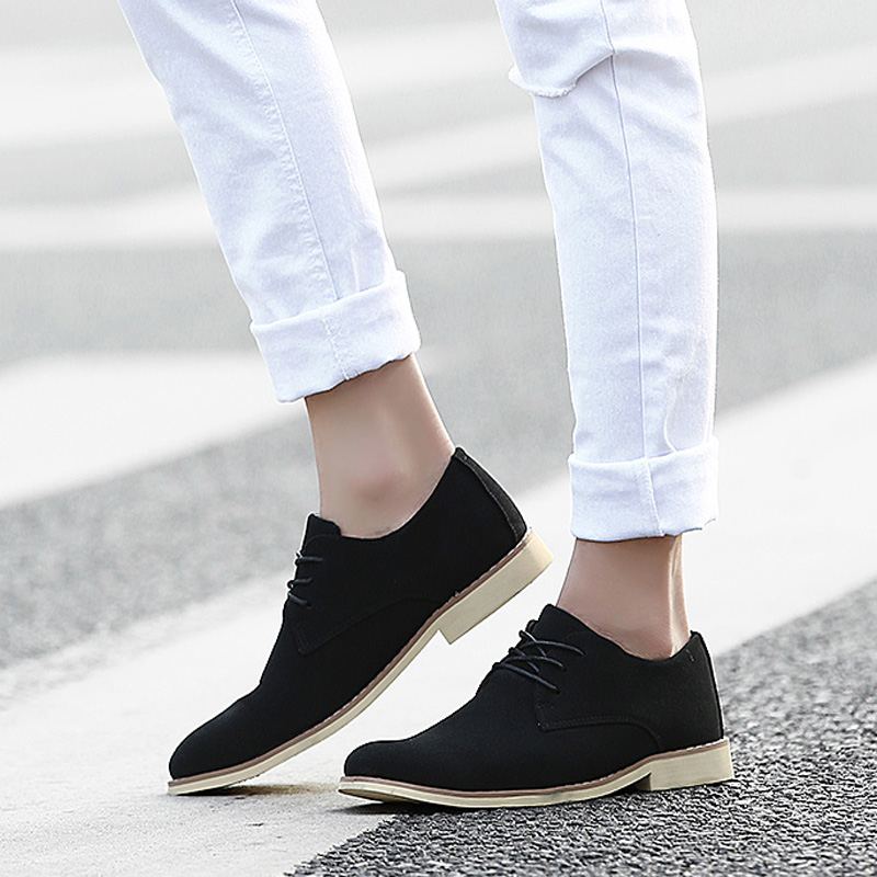 2015 spring breathable men's business trend pointed shoes Scrubs men's casual shoes men Korean wave shoes