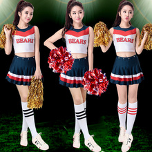 2016 cheerleaders cheerleading clothing apparel fashion show female aerobics stage outfit cheerleader uniforms.