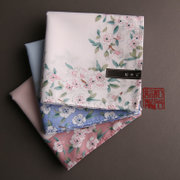And (Sakura) Ms. Mu Ji handkerchief absorbent cotton handkerchief Sakura thin soft handkerchief