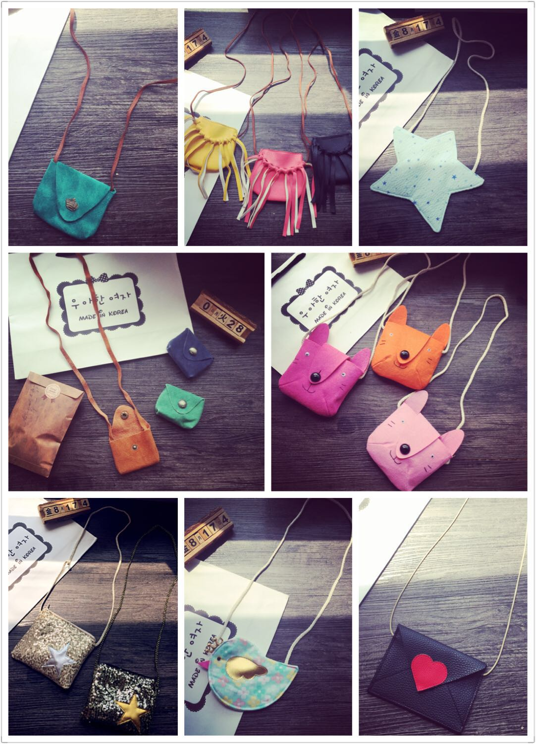South Korea's 2015 new girls girls all-match Cute Mini Crossbody Bag styles 2