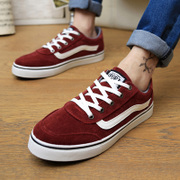 In the spring of Korean canvas shoes shoes casual shoes men low red shoes shoes Metrosexual shoes men's shoes