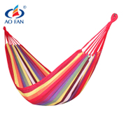 AOFAN hammock, outdoor, indoor, single, double canvas, student bedroom, dormitory, hammock, thickening swing, hanging chair