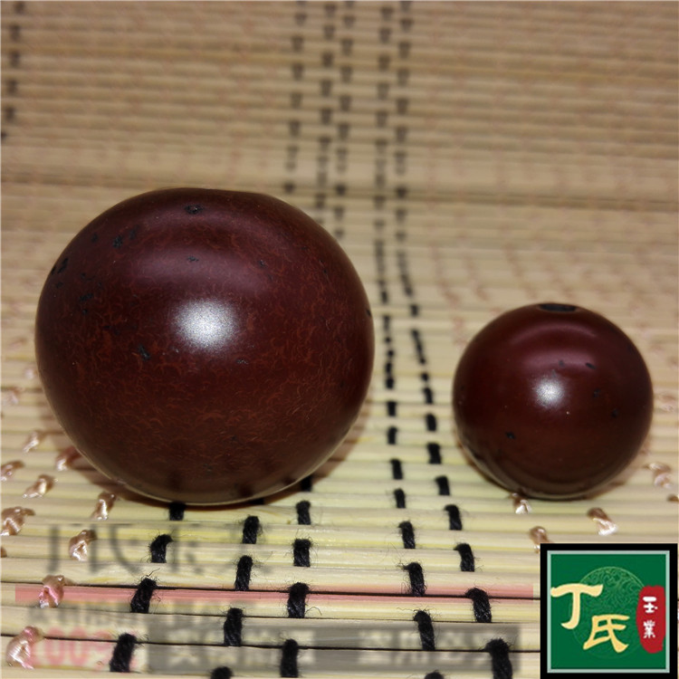 Medallion natural high ancient Tibet Tang Qiu agate beads million treasure hand bead DIY with bead DingZhu round bead