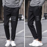 Summer men Haren pants pants feet leisure sports sweat pants nine pants pants men nosing loose long pants