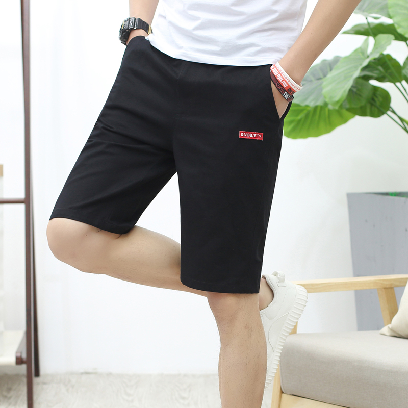 Summer wear the new 7 minutes of pants man han edition cultivate one's morality leisure trousers 7 minutes of pants pants in the thin cotton shorts