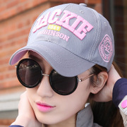 Baseball Hat female Korean spring outdoor sports sun sun hat letter summer tide hip hop peaked cap