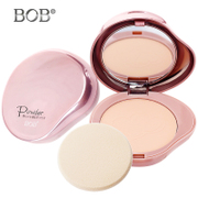 BOB heart or clear flawless makeup powder Yan Qing oil-controlling powder anti sweat brighten skin moisturizing Concealer