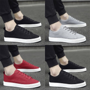 In the spring of 2017 new men's shoes sports shoes all-match trend of Korean male students personality canvas shoes
