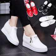 White shoe female increased in spring 2017 new shoes casual shoes soled shoes all-match Korean Kevin