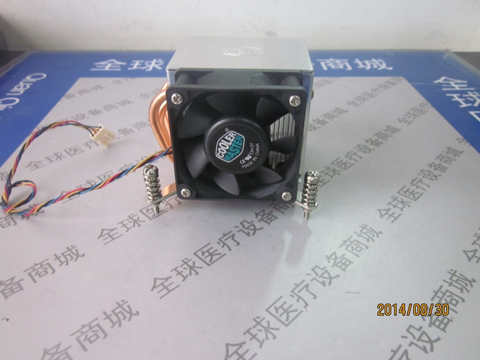 New cool 2U 136611551156 pin universal side blowing fan four line temperature control