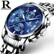 Men watch Mens watch movement quartz watch waterproof fashion fine men mechanical watches luminous strip
