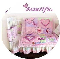 New! Baby bedding 8 piece set * Martina * in the garden beautiful and practical