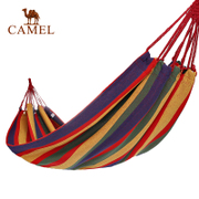Hot selling 20 thousand pieces of CAMEL camel outdoor hammock indoor hammock dormitory swing adult hammock