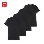 COTTON Mens T-shirt (short sleeved) (4 pieces) 182516 of its UNIQLO