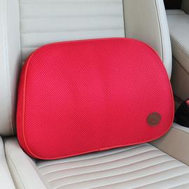 小蜗 汽车腰靠垫夏季透气记忆棉多功能靠垫护腰车用办公室座椅垫