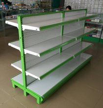 Dongguan supermarket shelves, pharmacies shelves thickening, single-sided double hole plate, maternal and child shop, convenience store display rack special price