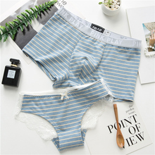 2 loaded national shipping! Couples underwear cute cotton creative personality male boxer set hot fun