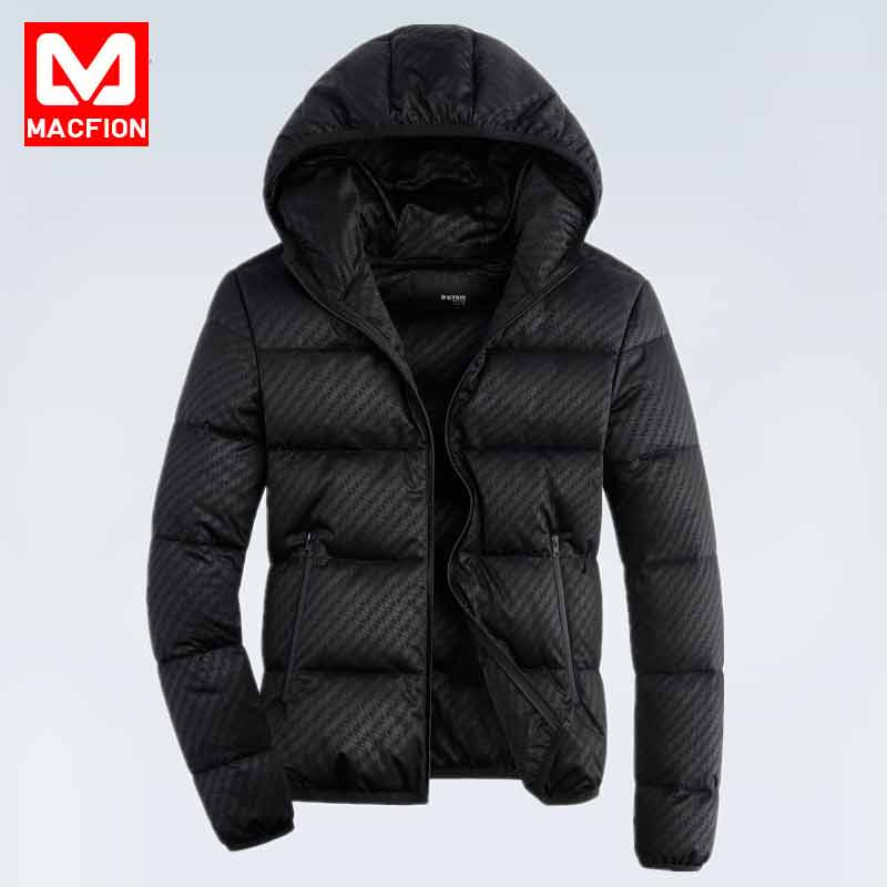 2016 new winter down jacket men's Korean version, short, lightweight, hooded youth, self-cultivation, thickening, men's coat tide