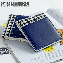 Purse girls short fashion, Korean version of young men's wallet, fashion sweet, small, fresh, simple, high school students