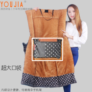 Electric motorcycle windshield waterproof kneepad Leggings in winter is increase with cashmere thermal battery car windshield
