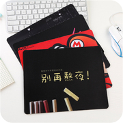 Creative personality Korean cartoon mouse pad small cute thickening anti slip game computer office home mouse pad