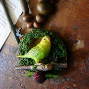 Creative sen OldtimeGarden hand is small adorn article simulation parrot necklace