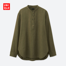 Self provided dress flannel collar shirt (long sleeved) 401694 UNIQLO UNIQLO