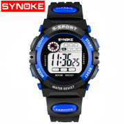 When the Nobel moment electronic watch children watch waterproof luminous boy girl boy girl pupils multi-purpose sports