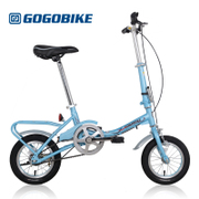 Gogobike 12 inch portable mini Kaku male and female pupils zxc GOGO bike bicycle