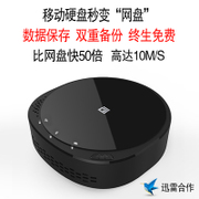 Yun Hui's box of personal cloud storage mobile hard disk 1t/2t4t SSD wireless WiFi solid network TV box