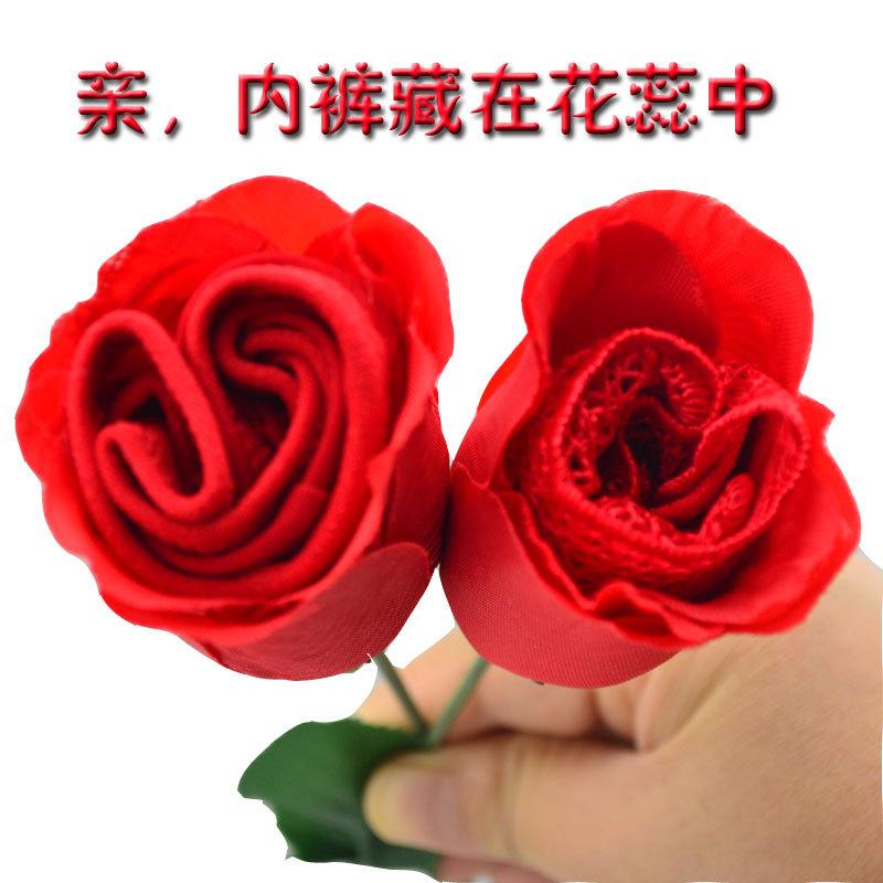 玫瑰花的动感内裤舞曲,情趣女士a动感四射红色情趣内衣蕾丝图片