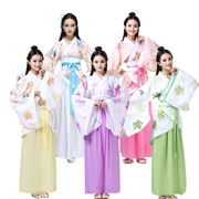 The Han costume Hanfu Hanfu clothing dress formal Qu garment modified costume costume Hanfu Hanfu