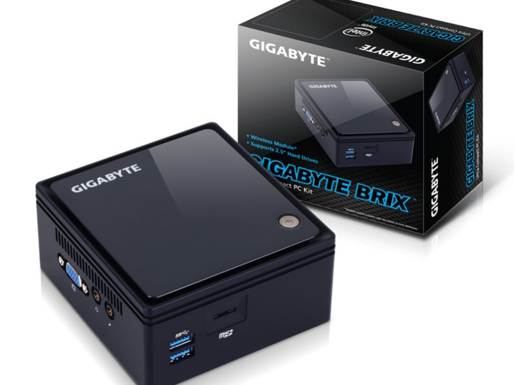 Gigabyte mini computer GB-BT series core living room charging multipurpose touch line