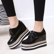 In the autumn of 2017 new thick base cake increased the British style shoes shoes retro Harajuku shoes casual shoes
