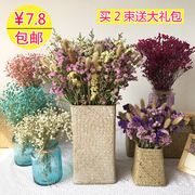 Mantianxing FLOWER FLOWER FLOWER of Yunnan really natural DIY living room decorative flower grass flower bouquet crystal forget me